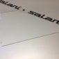 Steuerflosse für Zweier aus eloxiertem Aluminium AC 15